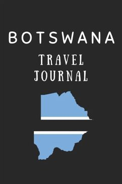 Botswana Travel Journal: Composition Notebook - Wellnoted, Happily