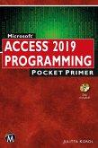 Microsoft Access 2019 Programming Pocket Primer