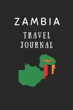 Zambia Travel Journal: Composition Notebook - Wellnoted, Happily