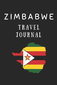 Zimbabwe Travel Journal: Composition Notebook - Wellnoted, Happily