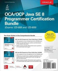 Oca/Ocp Java Se 8 Programmer Certification Bundle (Exams 1z0-808 and 1z0-809) [With CD (Audio)] - Sierra, Kathy; Bates, Bert; Robson, Elisabeth