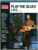 Play the Blues Like..., Gitarre