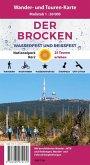 Der Brocken, Wander- und Mountainbike-Karte