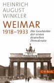 Weimar 1918-1933 (eBook, ePUB)