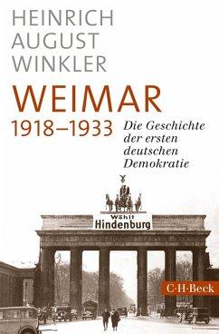 Weimar 1918-1933 (eBook, ePUB) - Winkler, Heinrich August