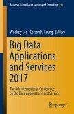 Big Data Applications and Services 2017 (eBook, PDF)