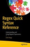 Regex Quick Syntax Reference (eBook, PDF)
