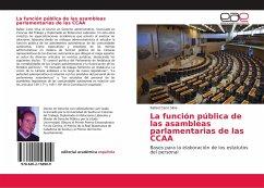 La función pública de las asambleas parlamentarias de las CCAA