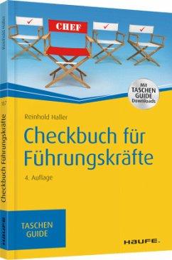 Checkbuch für Führungskräfte - Haller, Reinhold