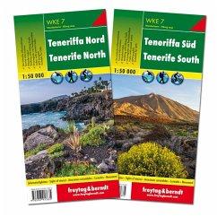Tenerife North + Sud / Norte + Sur de Tnerife / Tenerife della Nord + Sud