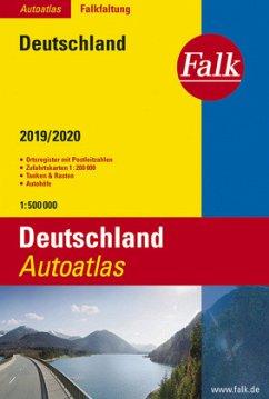 Falk Autoatlas Falkfaltung Deutschland 2019/202...