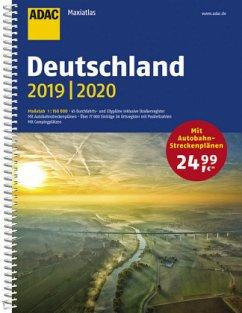 ADAC Maxiatlas Deutschland 2019/2020 1:150 000