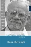 Komponisten in Bayern. Band 63: Klaus Obermayer