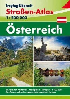 Freytag & Berndt Atlas Österreich, Straßen-Atlas 1:200.000