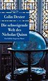 Die schweigende Welt des Nicholas Quinn / Ein Fall für Inspector Morse Bd.3