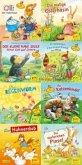 Pixi-Bundle 8er Serie 217: Ostern und Frühling mit Pixi - mit Stickern