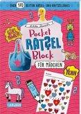 Pocket-Rätsel-Block: Für Mädchen