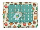 Geschenkpapier-Set für Kinder, Eulen