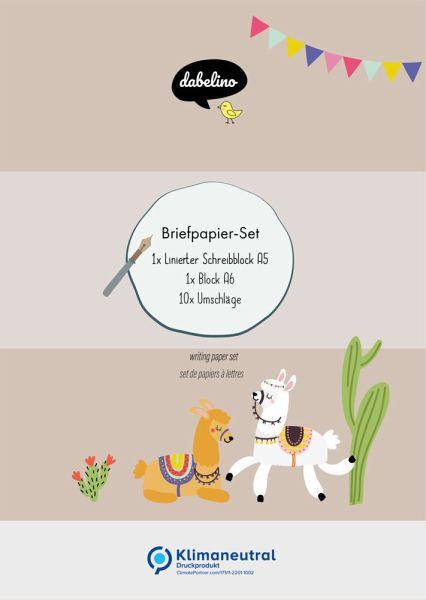 Briefpapier Frohliche Madchen Kreativzauber 1