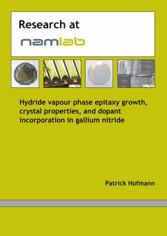 Hydride vapour phase epitaxy growth, crystal properties and dopant incorporation in gallium nitride