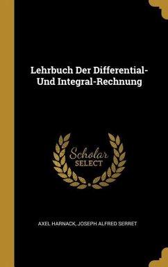 Lehrbuch Der Differential- Und Integral-Rechnung