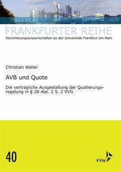 AVB und Quote (eBook, PDF) - Waller, Christian