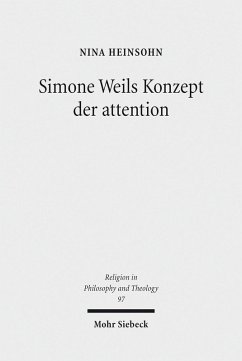 Simone Weils Konzept der attention (eBook, PDF) - Heinsohn, Nina