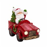 LED Deko-Figur Driving Santa
