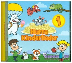 Hurra Kinderlieder, 1 Audio-CD