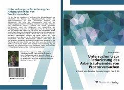 Untersuchung zur Reduzierung des Arbeitsaufwandes von Proctorversuchen - Schubert, Marcel