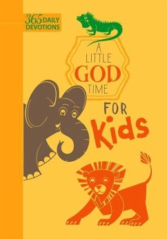 A Little God Time for Kids (Faux Leather Edition): 365 Daily Devotions - Broadstreet Publishing Group Llc