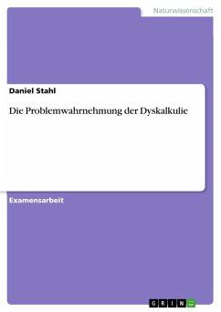 Die Problemwahrnehmung der Dyskalkulie (eBook, PDF)