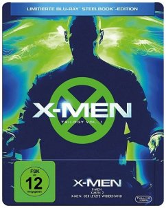 X-Men - Trilogie Limited Steelbook