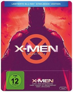 X-MEN Trilogie 4-6 Limited Steelbook