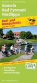 PUBLICPRESS Rad- und Wanderkarte Hameln - Bad Pyrmont - Nordlippe