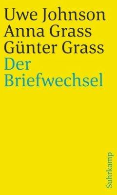 Der Briefwechsel - Johnson, Uwe; Grass, Anna; Grass, Günter