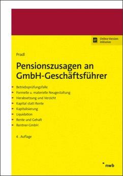 Pensionszusagen an GmbH-Geschäftsführer - Pradl, Jürgen; Pradl, Kevin