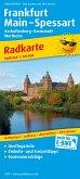 PUBLICPRESS Radkarte Frankfurt - Main - Spessart, Aschaffenburg - Darmstadt, Wertheim