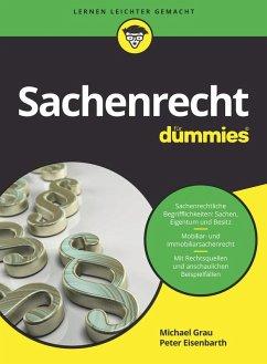 Sachenrecht für Dummies (eBook, ePUB) - Eisenbarth, Peter; Grau, Michael