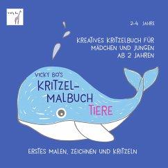 Vicky Bo's Kritzel-Malbuch - Tiere - Bo, Vicky
