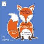 Von Punkt zu Punkt - Zahlen 1-60. Vicky Bo's Malbuch für Kinder ab 5 Jahren