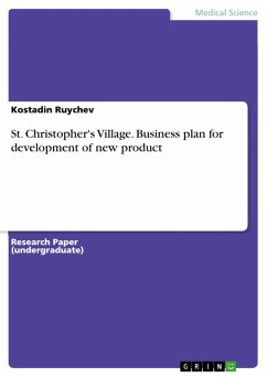 St. Christopher's Village. Business plan for development of new product (eBook, PDF)