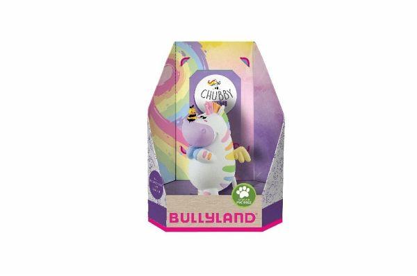 Bullyworld|Bullyland 44433 Sammelfigur Zebrasus Chubby /& Friends Single Pack