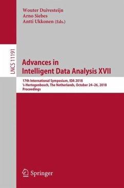 Advances in Intelligent Data Analysis XVII