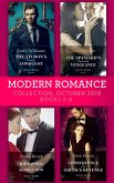 Modern Romance October 2018 Books 5-8: The Tycoon's Ultimate Conquest / The Spaniard's Pleasurable Vengeance / Kidnapped for Her Secret Son / Consequence of the Greek's Revenge (eBook, ePUB)