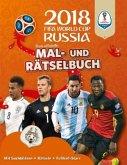 Das offizielle FIFA Fussball-Weltmeisterschaft Russland 2018 - Mal- und Rätselbuch (Mängelexemplar)