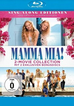 Mamma Mia! + Mamma Mia: Here We Go Again! BLU-RAY Box - Meryl Streep,Lily James,Amanda Seyfried