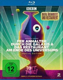 Per Anhalter durch die Galaxis + Das Restaurant am Ende des Universums BLU-RAY Box
