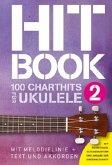 Hitbook - 100 Chart Hits für Ukulele