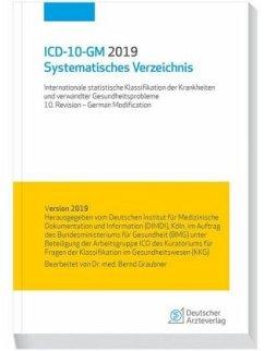 ICD-10-GM 2019Systematisches Verzeichnis